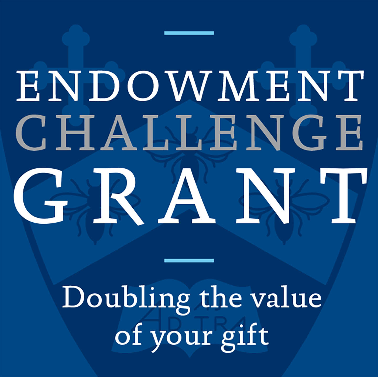Endowment Challenge Grant doubles the value of your gift